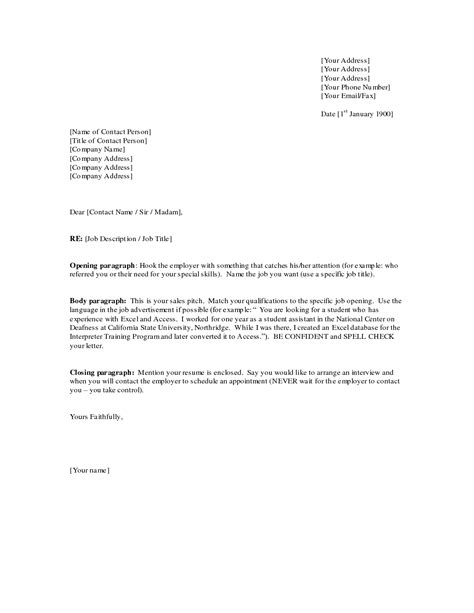 Business Letter Of Introduction Free Exle business letter sles 28 images 9 sales letter