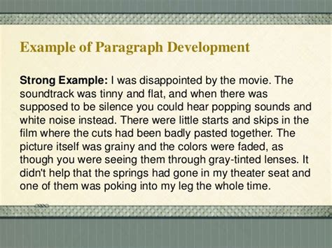 definition pattern of paragraph development methods of paragraph development