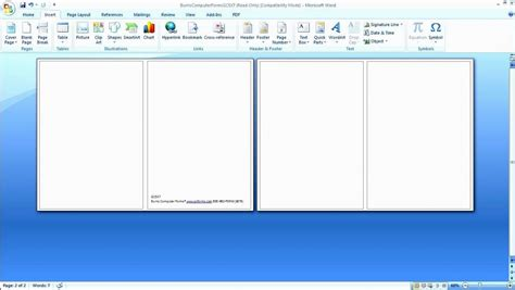 microsoft word card layout microsoft birthday card template birthday party ideas