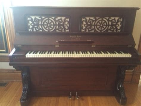 Garden Grove Dentist by Restored Antique Upright Piano W Historical Value