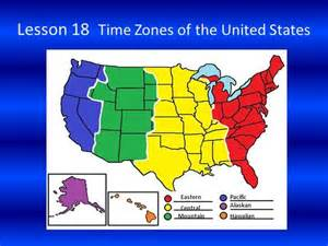 us time zones ppt mountain time zone us states