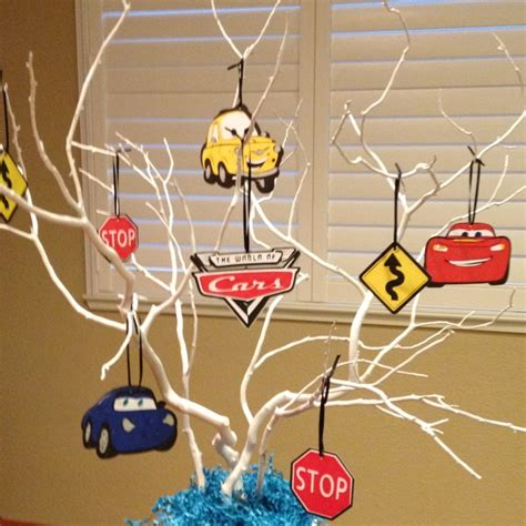 car themed baby shower decorations baby shower money tree pixar cars themed craft ideas