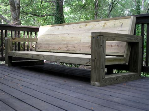 wooden outdoor couch pdf plans outdoor sofa plans download diy patio furniture