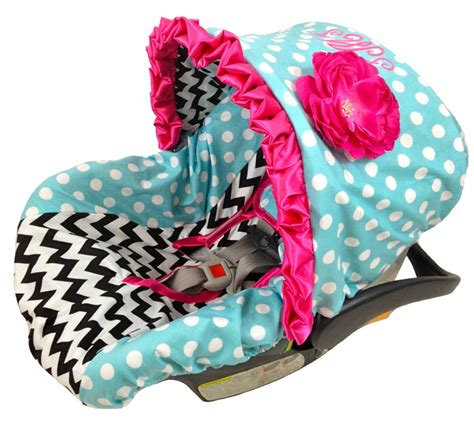 infant car seat slipcover infant car seat cover baby car seat cover custom listing for