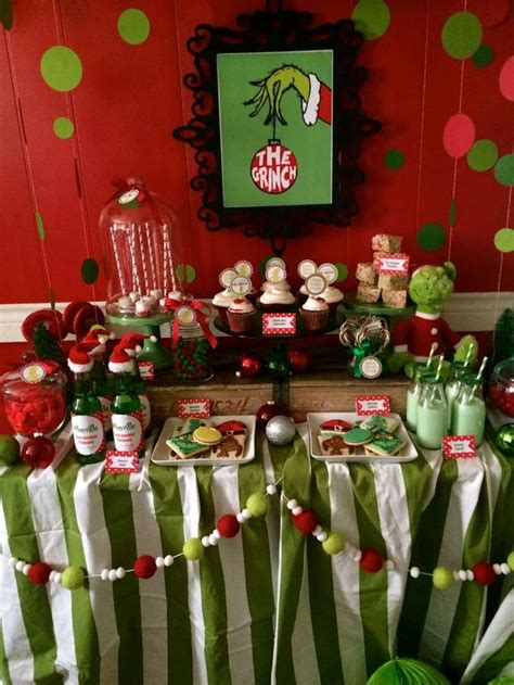 themes christmas party 1000 ideas about christmas party table on pinterest
