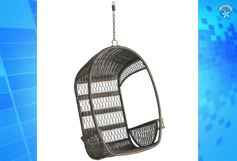 hawaiian swing chair pier 1 recalls 276 000 outdoor swing chairs due to fall risk