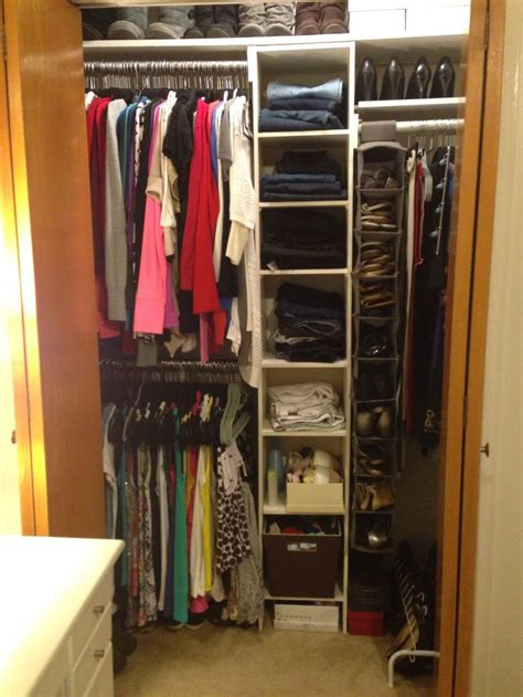 small closet organization best 25 apartment closet organization ideas on pinterest