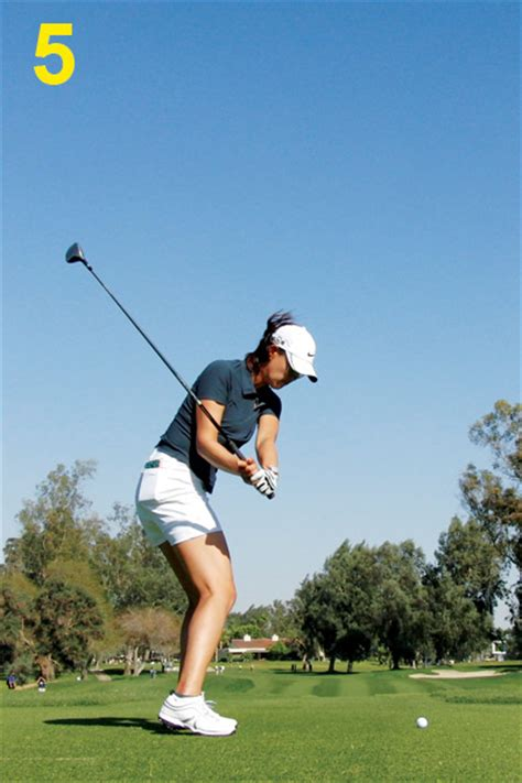 michelle wie driver swing michelle wie swing sequence golf com