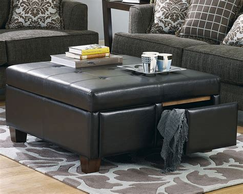 12 cube coffee table with 4 storage ottomans images