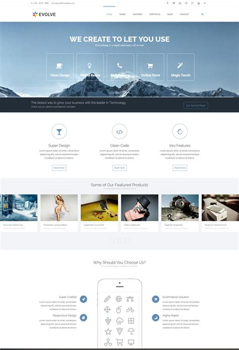 drupal theme evolve 15 premium and best drupal themes for websites