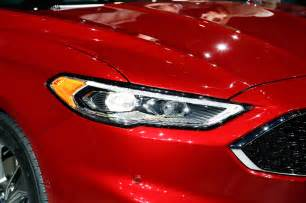 Ford Fusion Headlights 2017 Ford Fusion Look Review