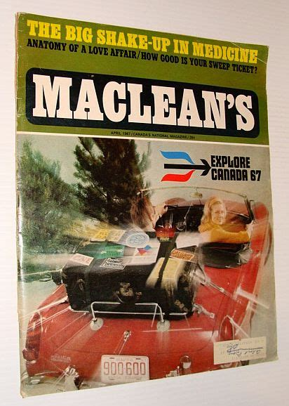 American Sweepstakes Publishers Phone Number - maclean s magazine april 1967 multiple contributors