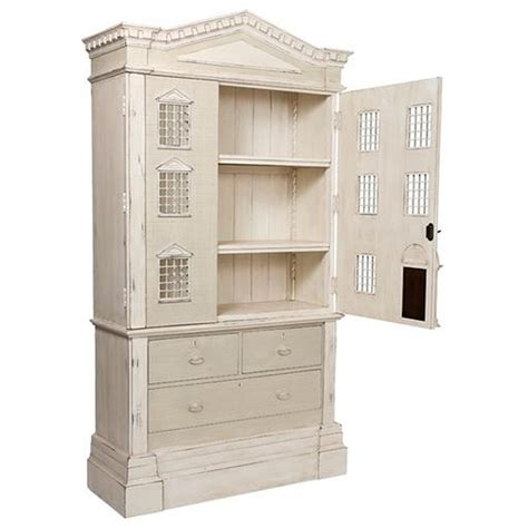 tall doll houses louise french country tall dollhouse 3 drawer dresser cabinet kathy kuo home
