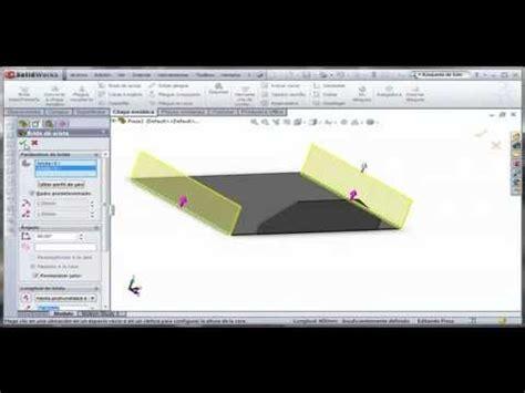 tutorial solidworks espanol tutorial solidworks chapa metalica totalmente en espanol