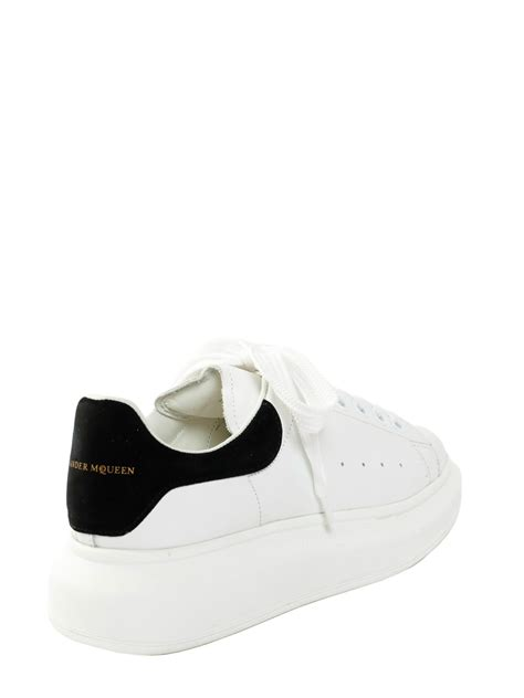 mcqueen sneakers womens mcqueen oversize sneakers in white bianco lyst