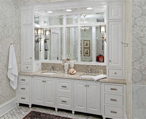 Traditional Bathroom Vanities And Cabinets Bathroom Vanity Cabinets Traditional With Built In Recessed Medicine
