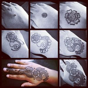 how to do henna tattoos step by step step by step to do henna for begins mehndi henna