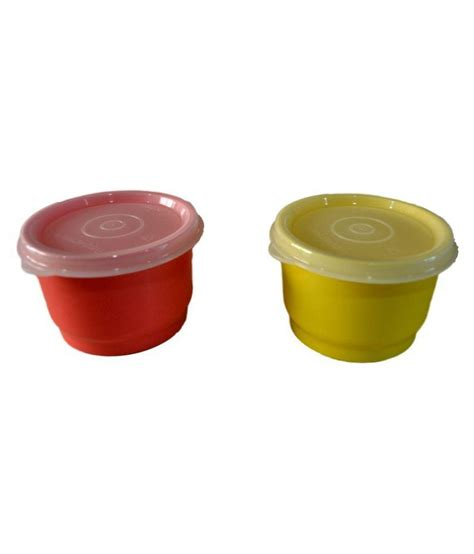 Tupperware Set tupperware snack cups set of 2 available at snapdeal for