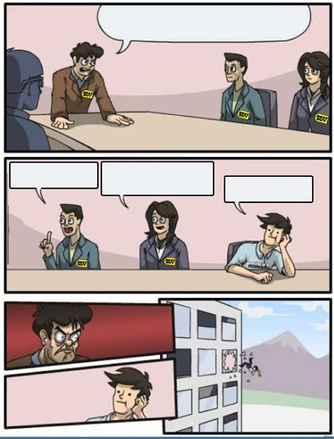 buy boardroom meeting suggestion blank template imgflip