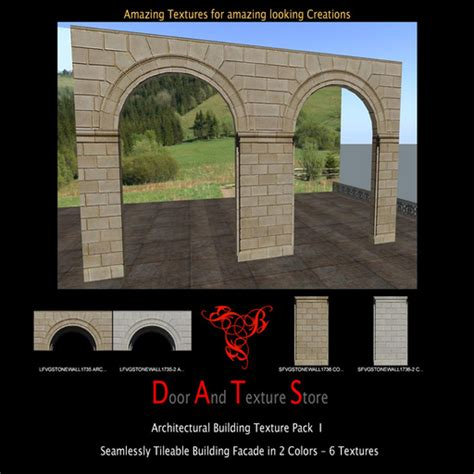 Garden Wall Arch Kit Second Marketplace Arched Building Wall Textures