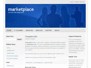 Marketplace 1 0 Free Website Template Free Css Templates Free Css Marketplace Website Template Free