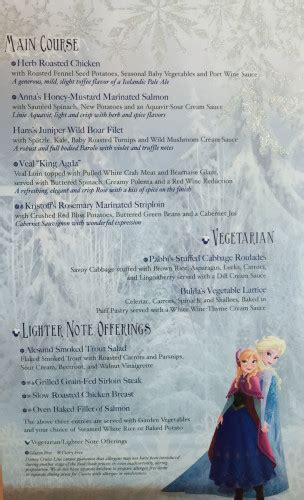 printable frozen menu freezing the night away with anna elsa and friends frozen