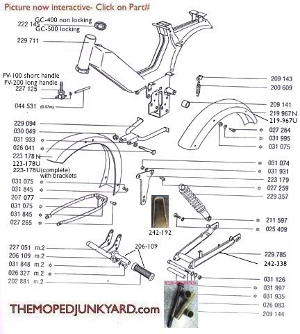 swing arm l parts tomos frame swing arm seats parts 5 subcategories
