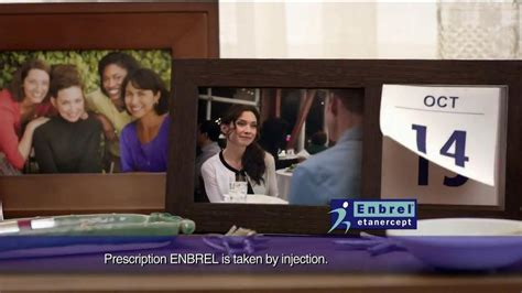 enbrel commercial actress enbrel tv spot calendar ispot tv