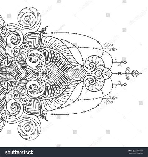 mandala tattoo vector mandala vector tattoo perfect card any stock vector