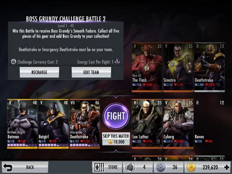 injustice mobile next challenge injustice mobile 2 0 the next challenge stage for june is