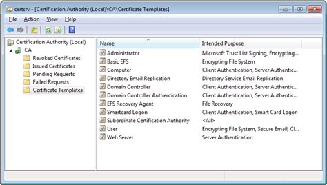 Smart Card Logon Certificate Template by Adcs Active Directory Certificate Services My Smart Logon