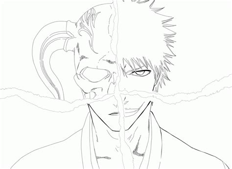 bleach yoruichi coloring page coloring pages