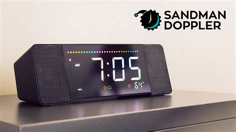 best alarm clocks sandman doppler the world s best alarm clock by palo alto