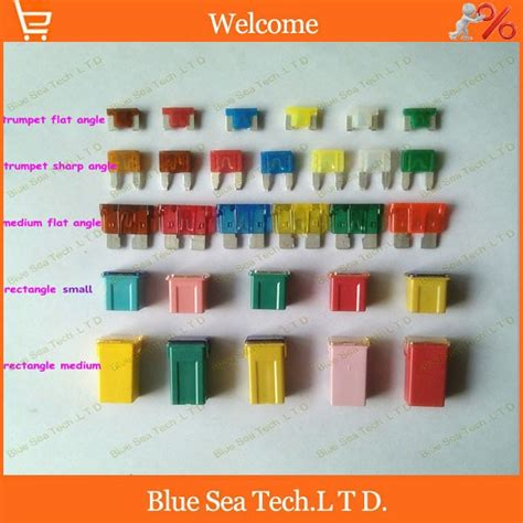 Car Types Of Fuses by 5 Type 32 Models 32pcs 5a To 60a Original 4s Auto Fuse
