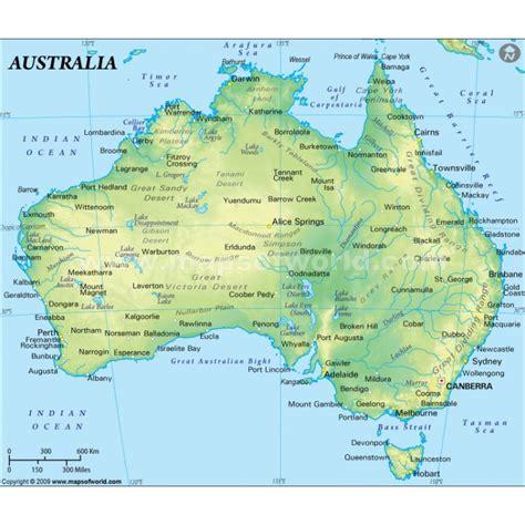 australian us map maps australia