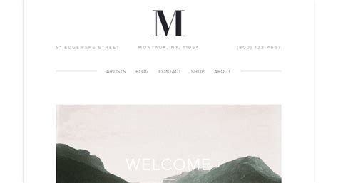 Building A Salon Site Squarespace Help Squarespace Maple Template
