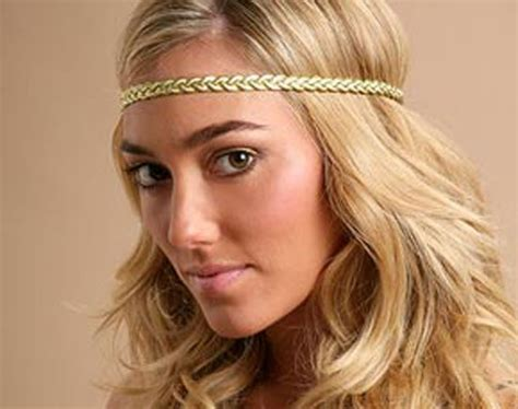 70s headband short hair we all wore head bands across are forhead back in the