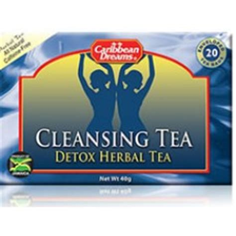 Caribbean Dreams Cleansing Tea Detox Herbal Tea by Caribbean Dreams Cleansing Tea