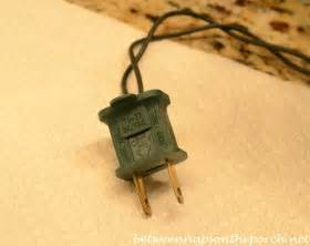 how to replace fuse in lights how to repair or fix a blown fuse on your tree