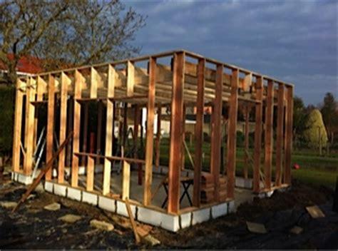houtskelet tuinhuis bouwen hsb tuinhuis vragen stijlen dak hoh en later andere