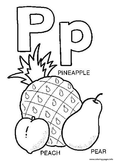 Letter P Coloring Pages Kindergarten by Letter P Coloring Pages The Explorer Alphabet Is