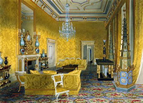 james roberts c 1800 67 buckingham palace the yellow drawing room