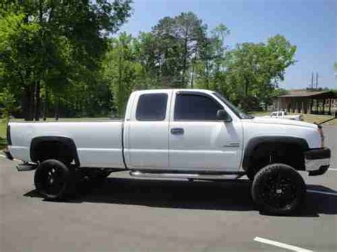 sell   chevy  hd ext cab  duramax diesel