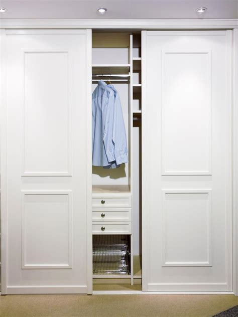 Closet Door Slides Closet Door Design Ideas And Options Pictures Tips More Home Remodeling Ideas For