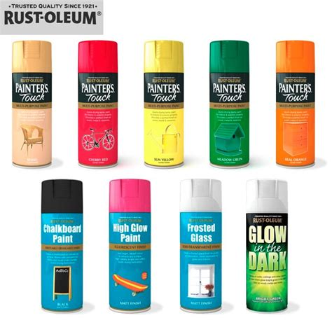 rust oleum spray paints that decorative touch
