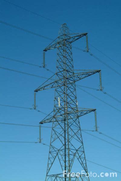 cell phone antenna   high voltage power  pylon