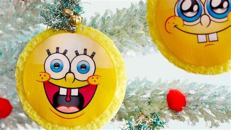adornos de arbol de navidad caseros adornos de bob esponja para decorar tu 225 rbol de navidad