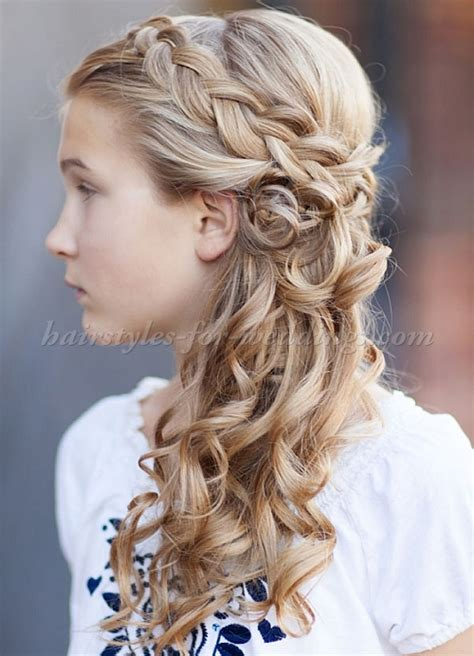 Flower Girl Braided Hairstyles For Weddings | flower girl hairstyles flowergirl hairstyles braided