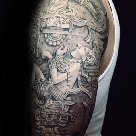 mayan tattoos for men mayan sleeve www imgkid the image kid has it