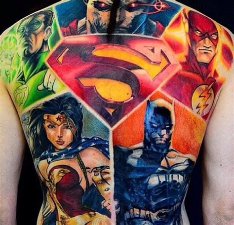 superhero tattoo designs top 10 designs artist magazine